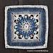 Daria Afghan Square pattern