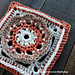 Scalloped Flower Square pattern