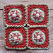 Christmas Adornment Square pattern