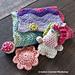 Fold Up Unicorn Play Set pattern