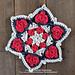Star Hearts Doily pattern