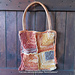 Rustic Mitered Squares Bag pattern
