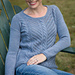 Diagonal Lace & Cable Pullover pattern