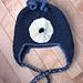 Crocheted Monster Earflap Hat pattern