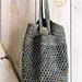 Spiral Mesh Bag pattern