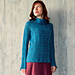 Mohair wavy pullover pattern