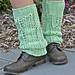 Sugar Tree Leg Warmers pattern