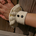 Wrist Cuffs with a Victorian Ruffle pattern
