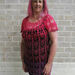 Peasant Style Pineapple Lace Top pattern