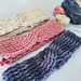 Crochet Rib Turban Headband pattern