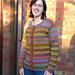 Kauni Rainbow Cardigan pattern