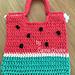 Watermelon Beach Bag pattern