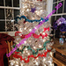 Christmas Tree Spiral Garland pattern