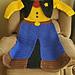 Sheriff Wearable Blanket pattern