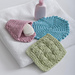 Wash My Face Washcloths pattern