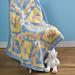 Three Squared Baby Blanket pattern