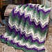 Woodland Waves Afghan pattern
