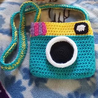 Ravelry Camera Purse Small Pattern By Christina Bethke