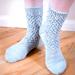 Diamond Lace Socks pattern
