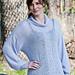 Lace Turtleneck Sweater pattern