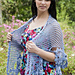 French Blue Shawl pattern