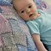 Entrelac Baby Blanket pattern