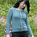Twisted Grapes Cardigan pattern