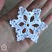 Stellar Star Snowflake pattern