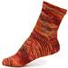Spiraling Master Coriolis Sock pattern