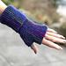 Long Pure Garter Stitch Mitts pattern