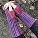 Striped Garter Stitch Mitts pattern