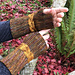 Golden Braid Mitts pattern