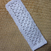 Small Drop Lace Bookmark pattern