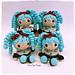 La poupée Bleue inspirée Hatsune Miku pattern
