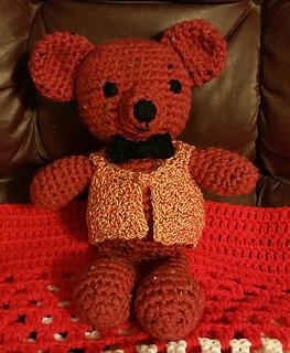 Crochet Teddy Bear Written Pattern and Video   Confection au ...   320x263