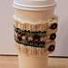 Fancy Tulip Coffee Cozy pattern