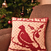 Partridge Holiday Pillow pattern