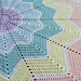 Rainbow Ripple Baby Blanket pattern