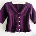 Freya - a frilly lacy seamless cardigan pattern