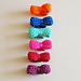 Crochet bow ring pattern