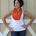 Tangerine Crush Cowl pattern