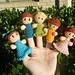 Little Finger Friends Finger Puppets pattern
