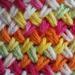 Woven Basket Stitch Dishcloth pattern