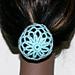 Ballerina Hair Cover pattern