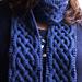 celtique scarf pattern
