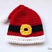 Santa's Favorite Preemie Hat pattern