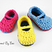 Sweet Baby Mary Janes pattern