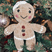 Plush Gingerbread Man pattern