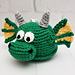 Draco the Dragon Scrubby Amigurumi pattern
