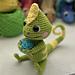 Chloe the Chameleon pattern